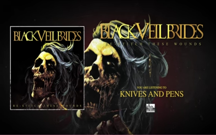 BLACK VEIL BRIDES - Knives And Pens