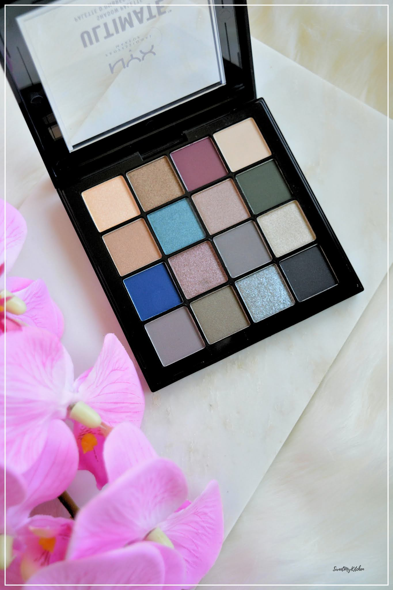 NYX Ultimate Shadow Palette Ash review