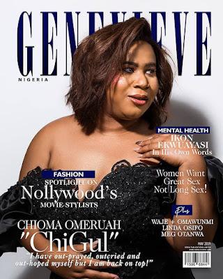 Chigurl Genevieve Magazine cover
