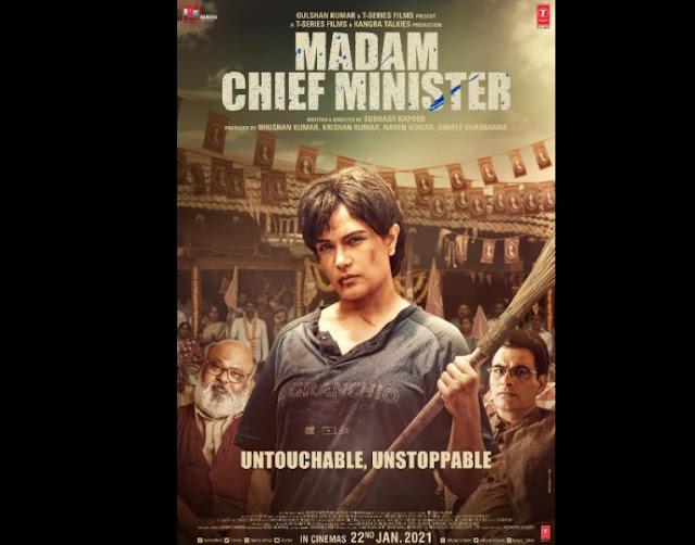 Richa Chadha new movie Madam Chief Minister (2021)