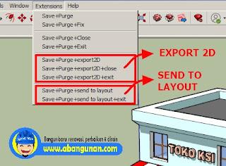 Plugin/Extension SketchUp Save++ Versi 3