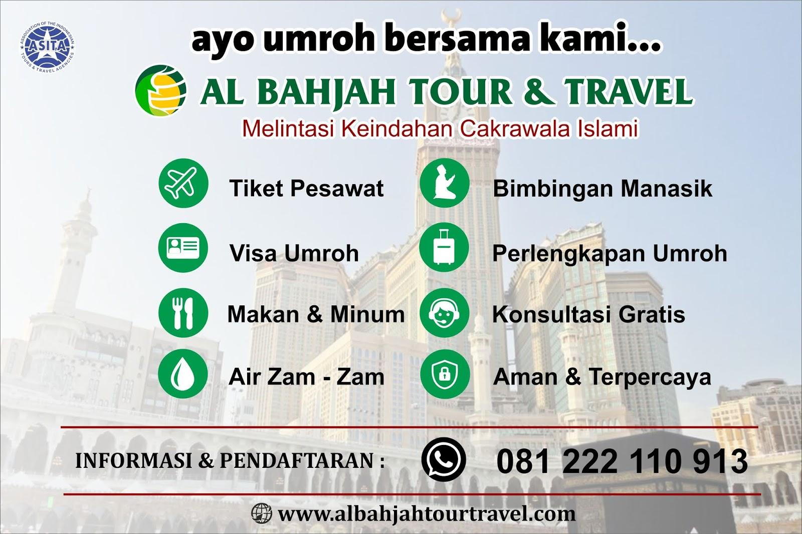 PROGRAM UMROH AL BAHJAH TOUR TRAVEL