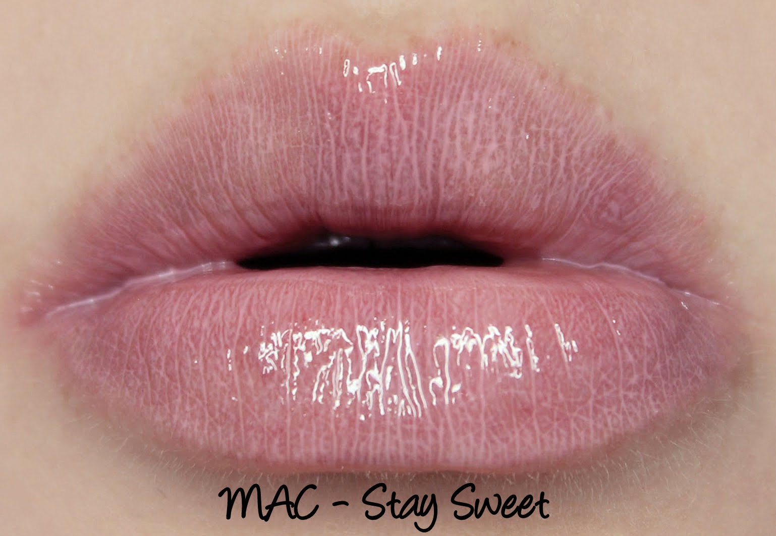 MAC Monday: Archie's Girls - Stay Sweet Lipglass Swatches & Review