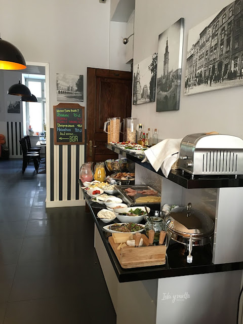 Topolowa Residence desayuno