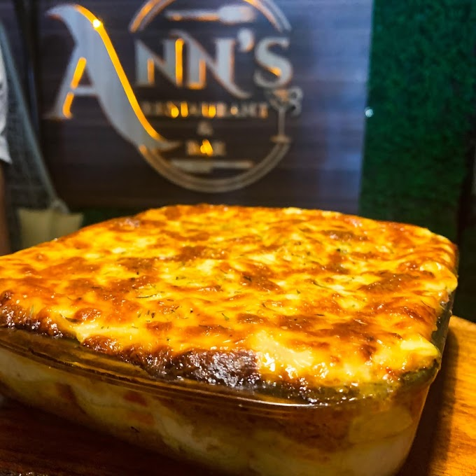 PENNE ARABIATTA AND LASAGNA AT ANN'S RESTAURANT ABUJA
