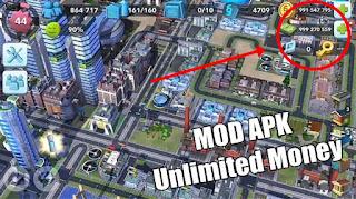 Download SimCity Buildlt 1.30.6.91708 Mod Apk (Unlimited Money, Coins & Key)