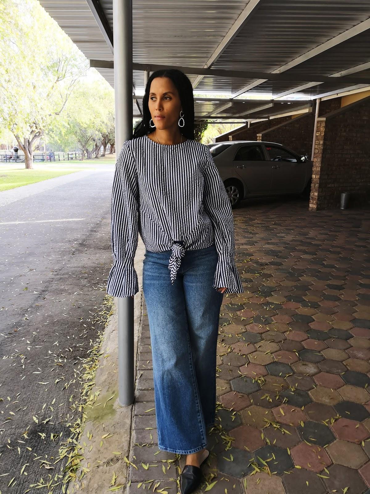 Liezel-Esquire-tie-front-blouse