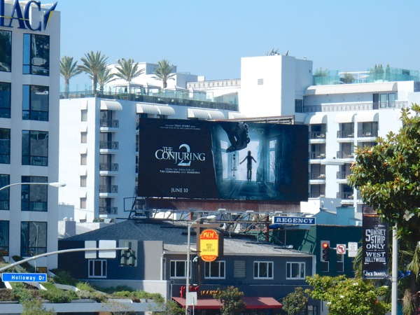 Conjuring 2 film billboard