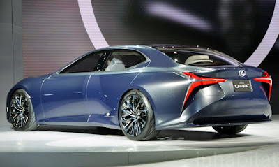 Lexus LF-FC 2018 Review, Specs, Price