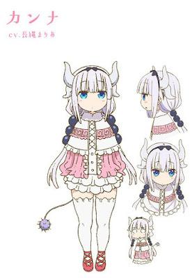 Kobayashi-san chi no maid dragon characters kanna