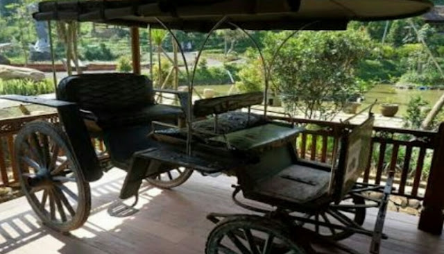 Kereta Kencana di Dago Dream Park
