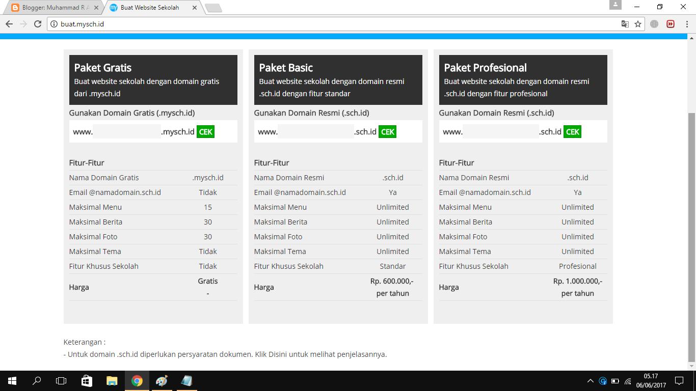 Membuat Website/Laman Sekolah dari MYSCH.ID - GuraruGuraru