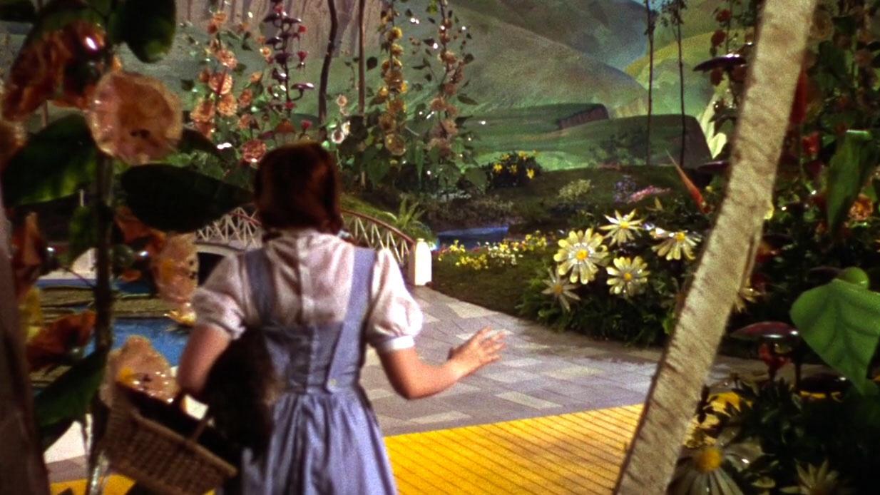 Truco rodaje El Mago de Oz