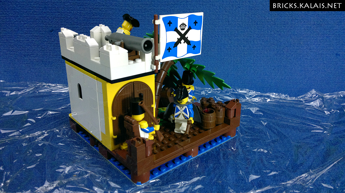 [MOC] Bluecoats' small Outpost