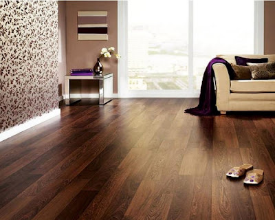 Sàn gỗ tự nhiên chiu liu tạo ấn tượng mạnh