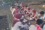 Kegiatan Pembinaan Pramuka Saka Wira Kartika di Buka Kodim Lobar
