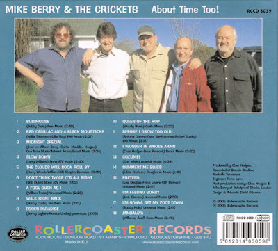 Mike Berry & The Crickets - About Time Too!