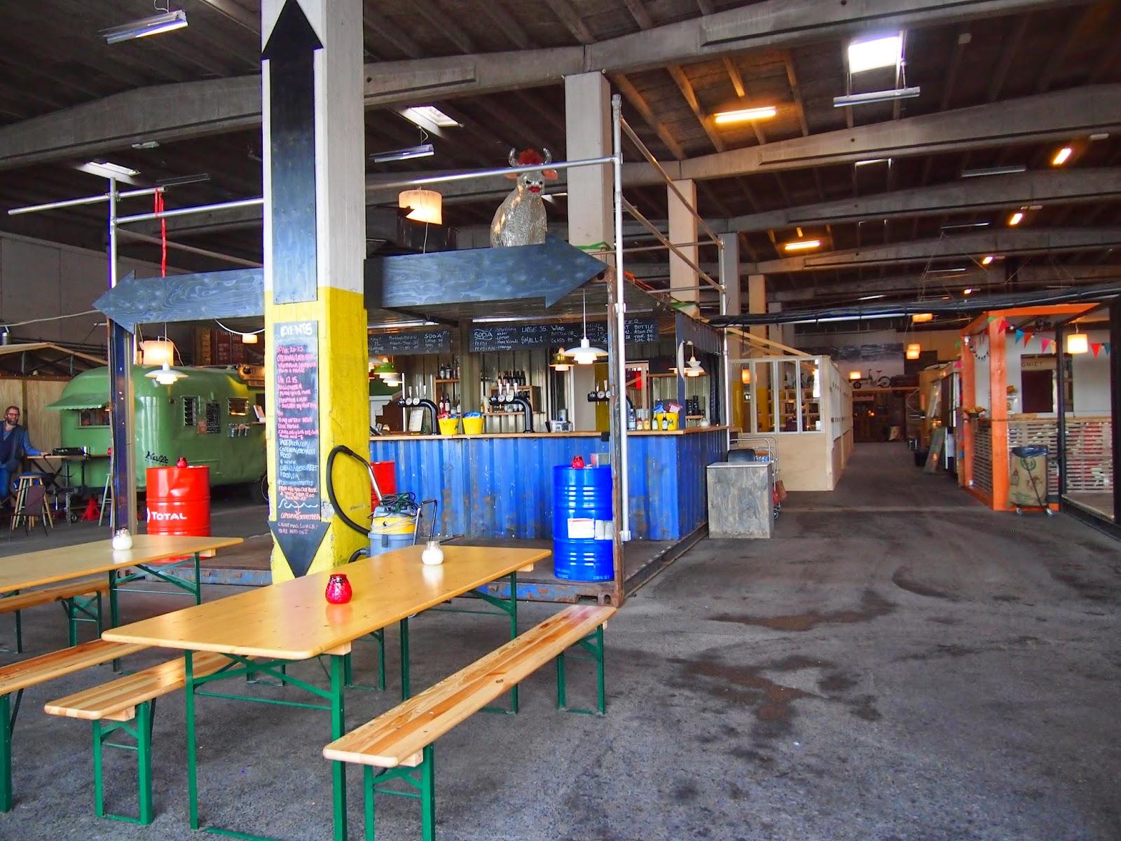 inside the food market of paprioen
