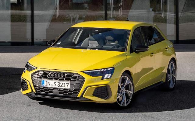 Novo Audi S3 Sportback pode vir ao Brasil em 2021