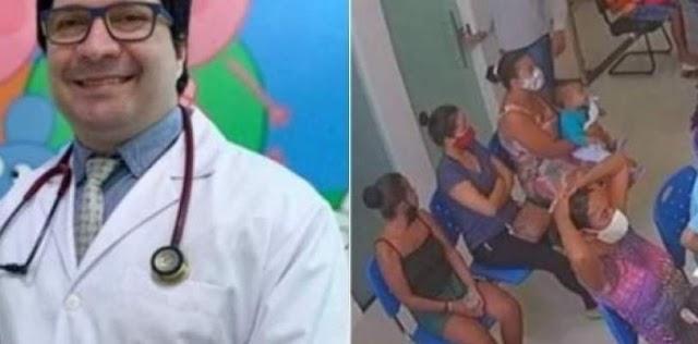 Suspeito de ser mandante do assassinato do médico dentro de consultório na Bahia se entrega à polícia