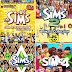 Game The Sims 1 2 3 and 4 COMPLETE