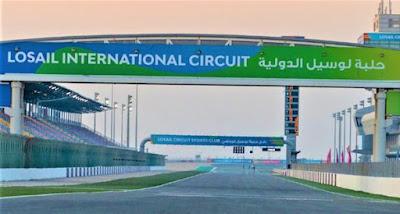 Berita MotoGP 2021 : Unik dan Memanasnya Test Shakedown di Sirkuit Losail, Qatar