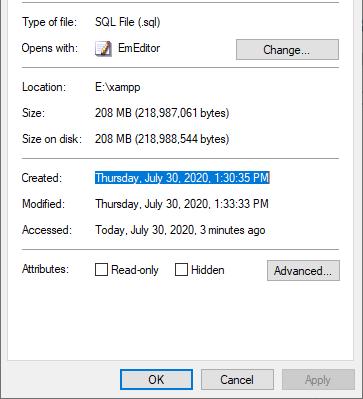 Dump và import dữ liệu MySQL thật nhanh