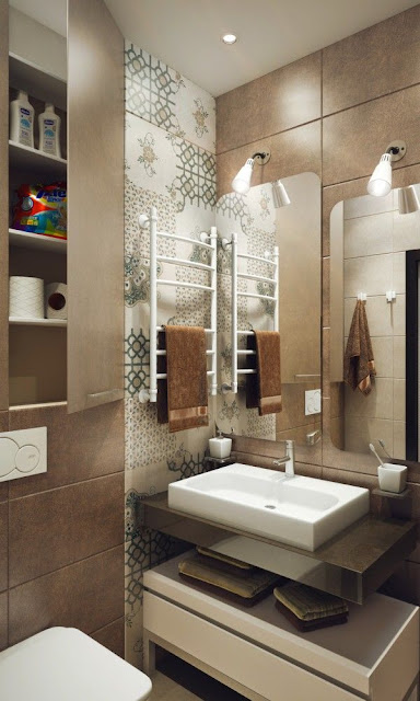 Small Bathroom With Tub Design Ideas