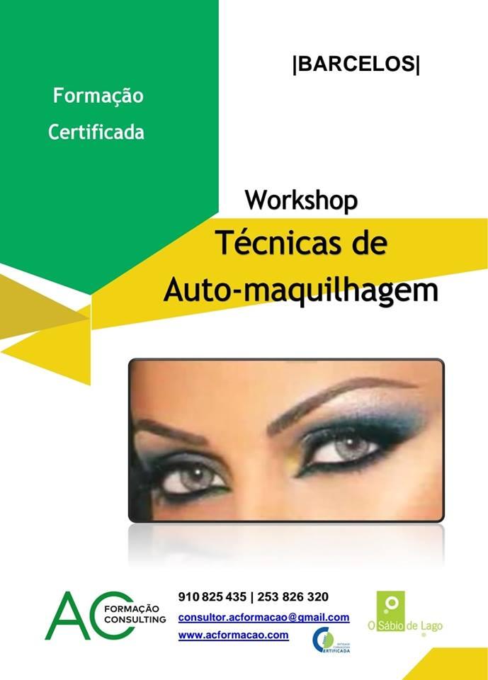 Workshop de Técnicas de Auto-maquilhagem em Barcelos