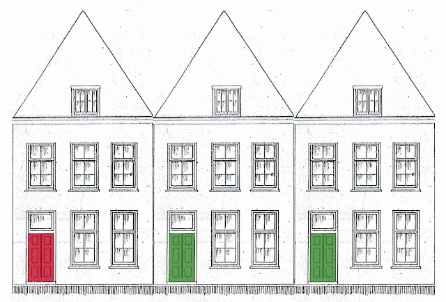 Ridderschapstraat 10-12-14 staan sinds 1665 op een rij