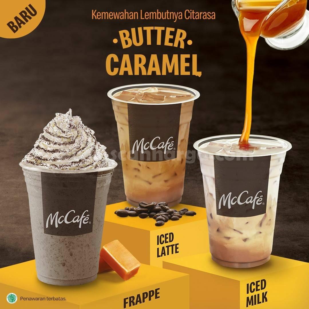 BARU! McDonald's Butter Caramel + Iced Latte McCafe