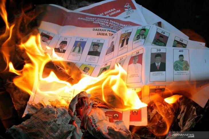 Tersangka Pembakaran Kotak Suara di Jambi Itu Caleg PDIP