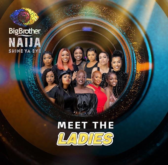 BBNAIJA 2021: Meet All Ladies In The House Of BBNaija Season 6