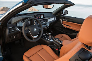 BMW Series 2 Convertible and Coupe Interior