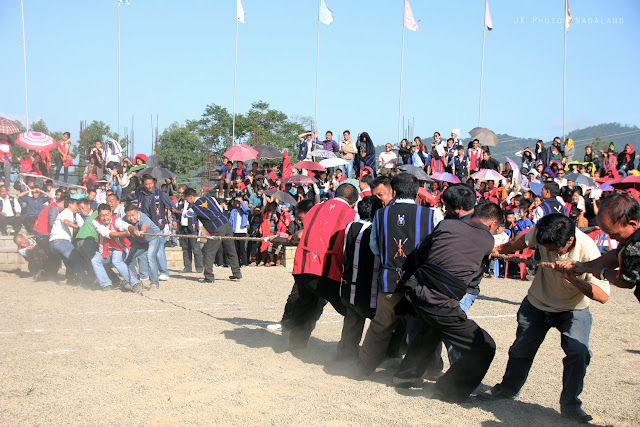 Lotha Tokhu Emong Festival Photos Games