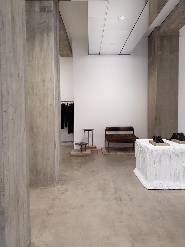 abbastanza vosgesparis: Rick Owens Milan store & furniture book signing NE35