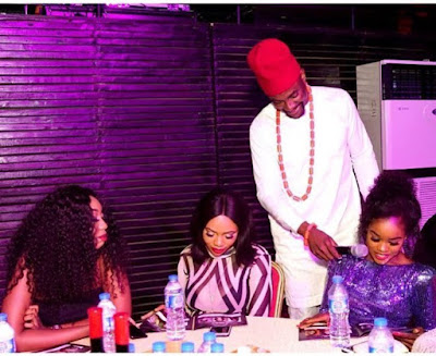 #BBNaija: Photo Of Ebuka And Cee-C Before BBM Emerges