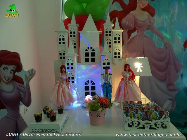 Decoração infantil Ariel - Festa de aniversário feminino