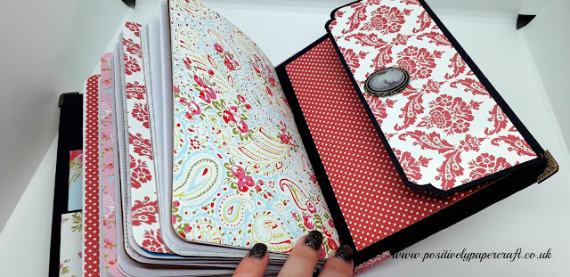 Positivelypapercraft handmade notebooks