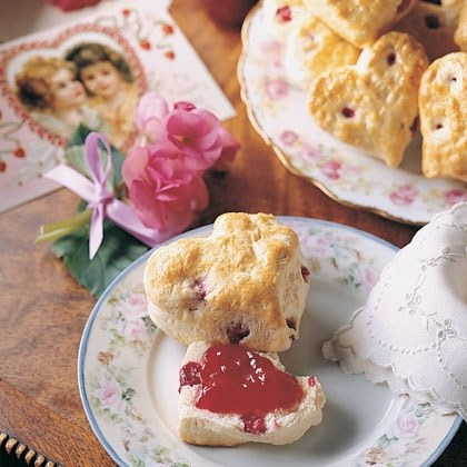 Cranberry Sweetheart Scones Recipe