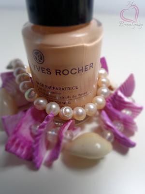Yves Rocher, Couleurs Nature, Baza rozświetlająca z wyciągiem z róży