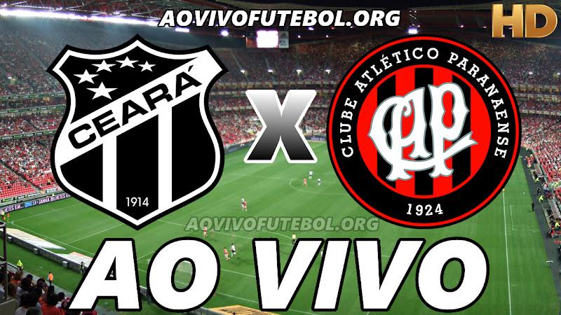 Ceará x Atlético Paranaense Ao Vivo HD TV PFC