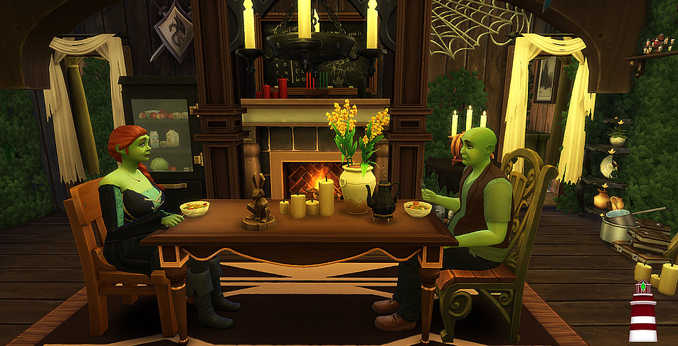 Shrek S Swamp House Sims 4 Houses