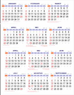 Template Kalender 2020 Lengkap Penanggalan Jawa