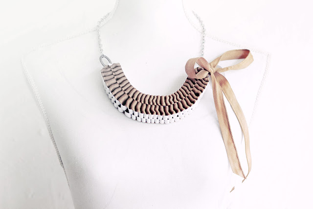 Anthropologie Accordion Strands Necklace