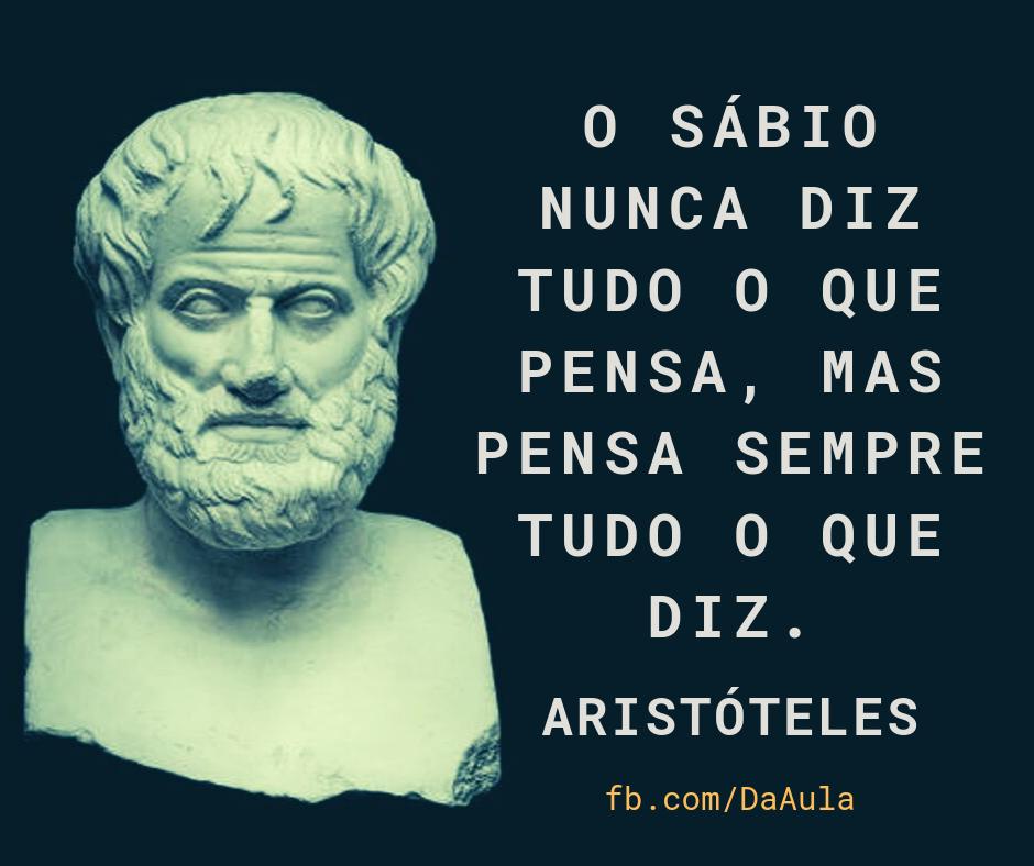 Um homem chamado Aristóteles