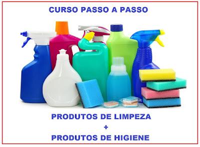 Produtos de limpeza e higiene