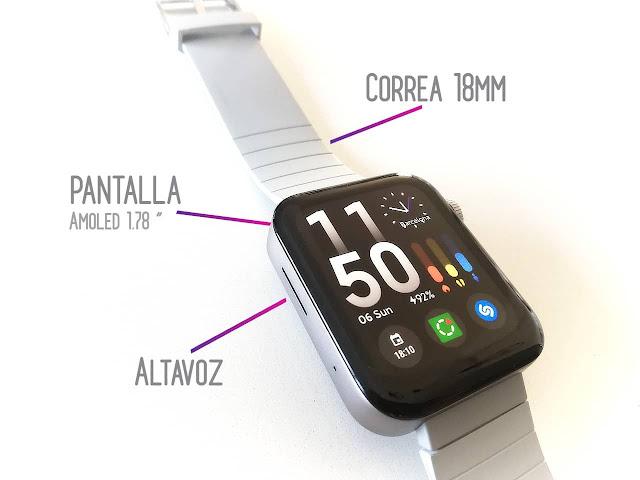 especificaciones xiaomi mi watch