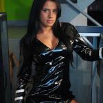 Andrea Rincon, Selena Spice Galeria 5 : Vestido De Latex Negro Foto 97