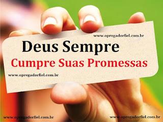 3 Razões Porque Deus Não Pode Quebrar Promessas